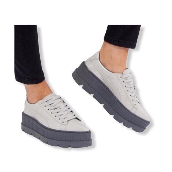 Fenty X Rihanna Pointy Creeper Sneakers
